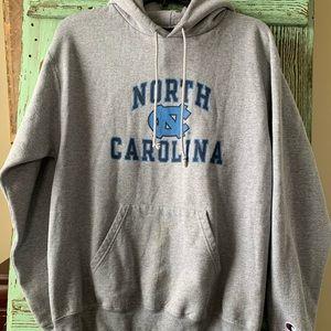 Champion North Carolina hoodie.  Size medium